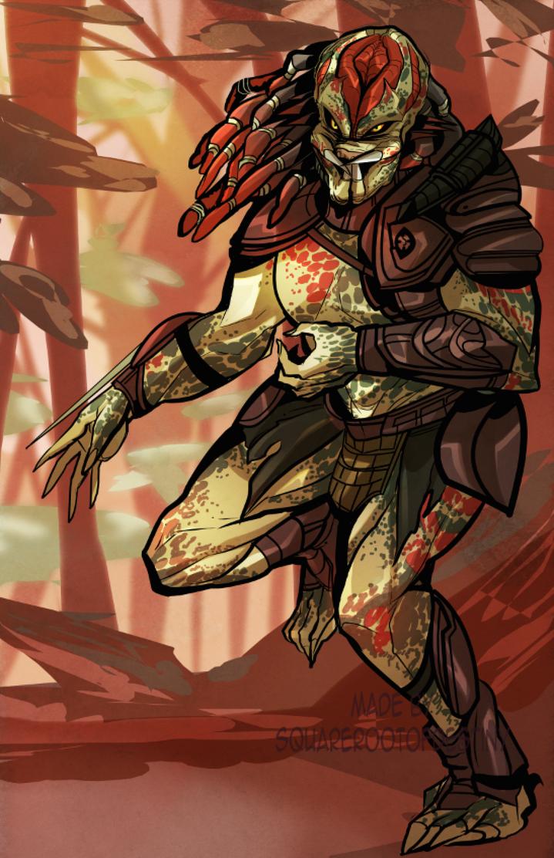 Berserker Predator Commission By Squarerootofdestiny On