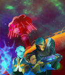 Mass Effect/Fallout Happenings (COMMISSION)