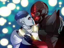 Titans in LURVE (COMMISSION)