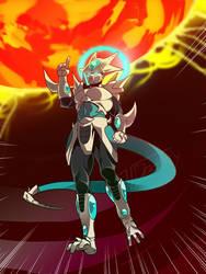 Angry Icejin (COMMISSION)