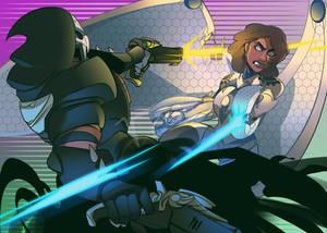 Reaper Battle (COMMISSION)
