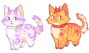 Kitten Adopts (Closed) Auction by Liannell
