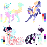 Bright Kitten (Closed) Set Price by Liannell