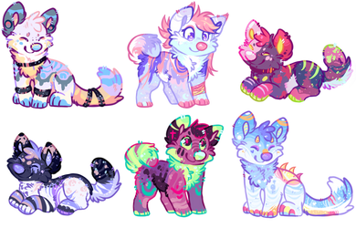 Doggy Adopts (Closed) Set Price by Liannell
