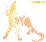 Colorful Catty (Closed) Adopt