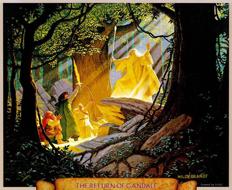 The Return of Gandalf by BrothersHildebrandt