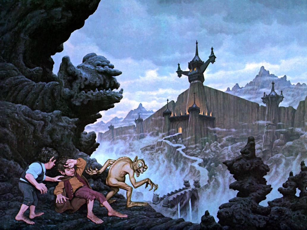 Ringwraith City by BrothersHildebrandt