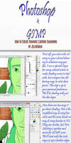 PS-GIMP Tutorial: Dramatic Shades by BeJuled