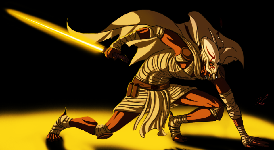 Kaleesh Jedi by BeJuled on DeviantArt