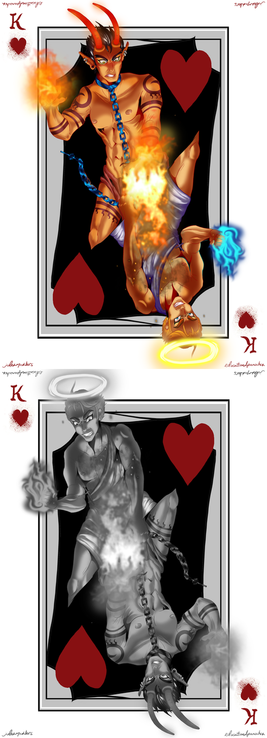 Collab: King of Hearts by JeluiMasters