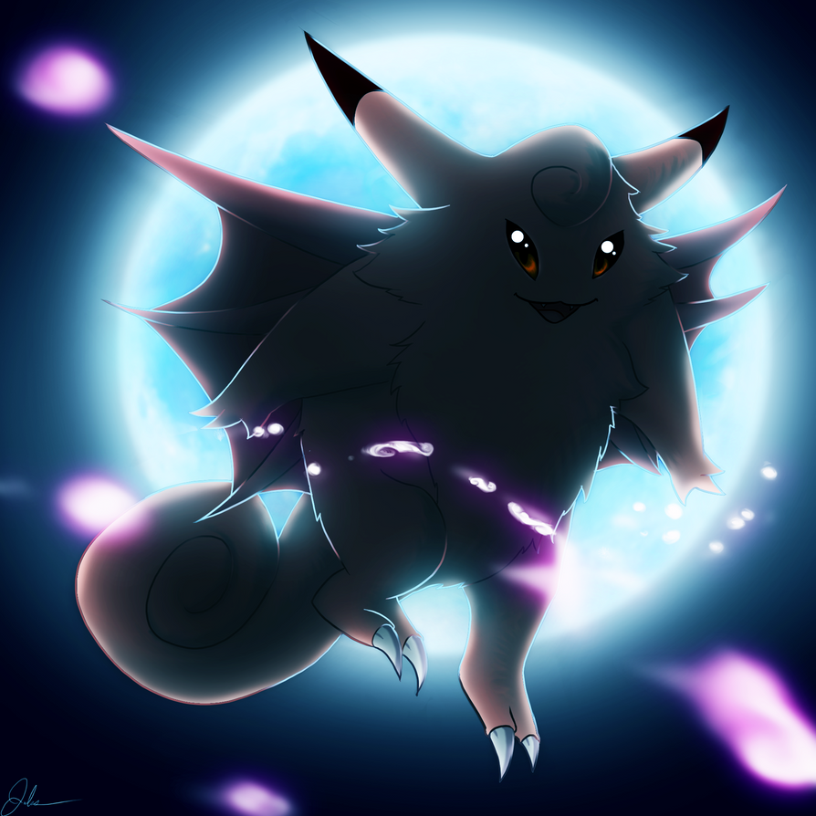 clefable by bejuled on deviantart