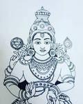Lord Vishnu by aravindhtr