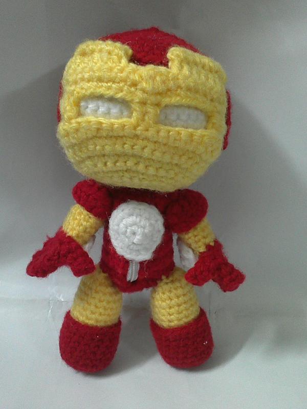 Iron Man Amigurumi Free Pattern : Iron man sackboy by NVkatherine on DeviantArt