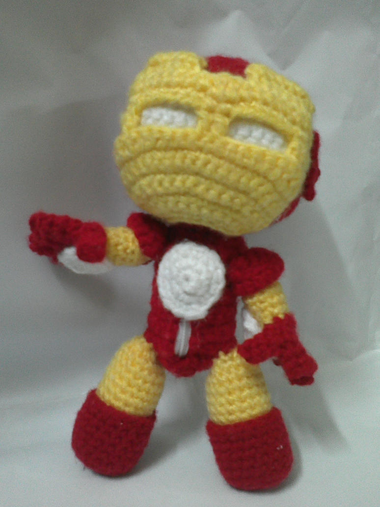 Iron man sackboy by nvkatherine on deviantart iron man sackboy by nvkatherine dt1010fo