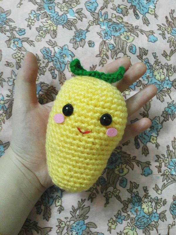 Mango Fruit Amigurumi (free pattern) by NVkatherine on ...
