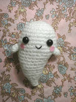 Kawaii Ghost amigurumi (free pattern) by NVkatherine