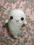 Kawaii Ghost amigurumi (free pattern)