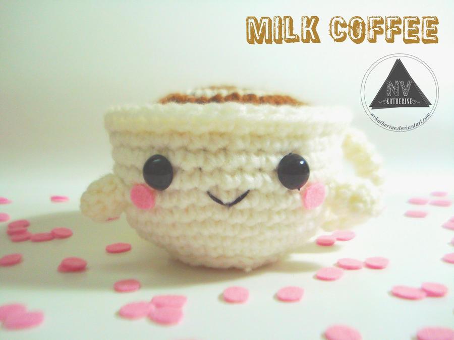 Milk Coffee Cup FREE PATTERN by NVkatherine