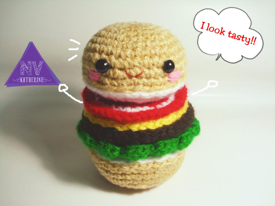 Hamburger amigurumi by NVkatherine on DeviantArt