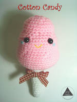 Cotton Candy amigurumi [FREE PATTERN + TUTORIAL] by NVkatherine