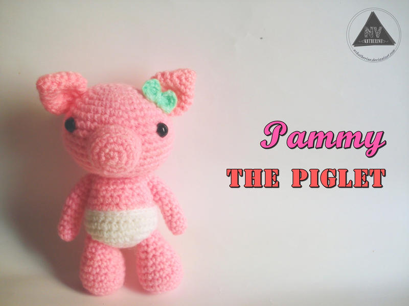 Piglet Amigurumi Free Pattern : Pammy the piglet [free pattern tutorial] by nvkatherine on deviantart