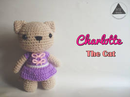 Charlotte the Cat [FREE PATTERN + TUTORIAL] by NVkatherine