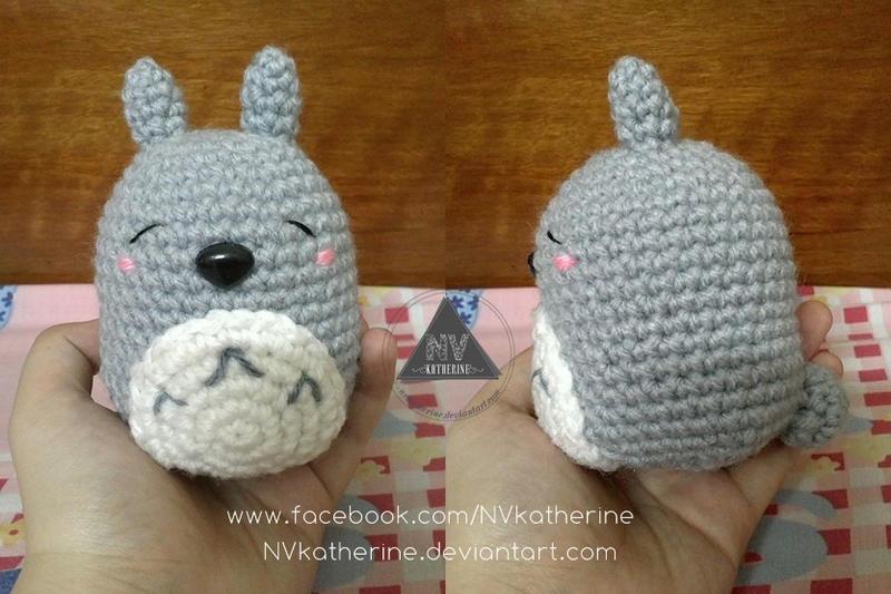 Amigurumi Totoro : Amigurumi totoro free pattern slugom for