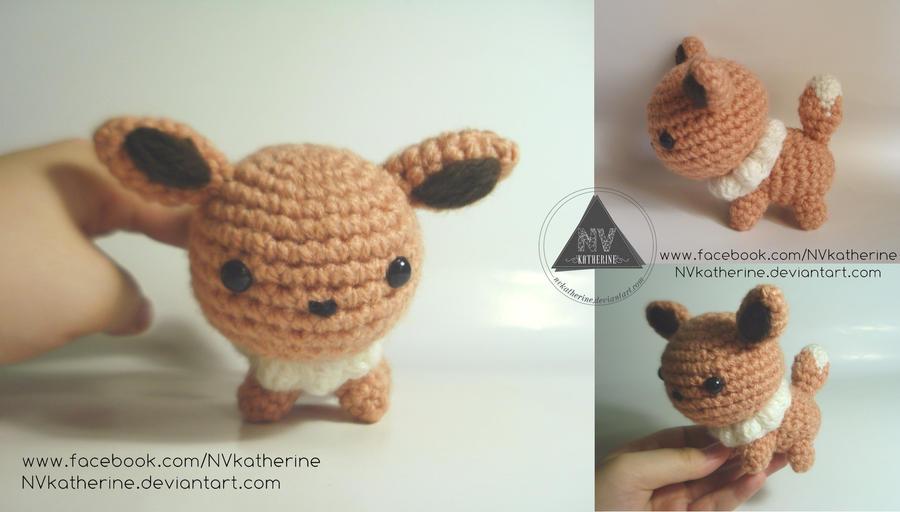 Amigurumi Pokemon Eevee : Chibi Eevee amigurumi by NVkatherine on DeviantArt