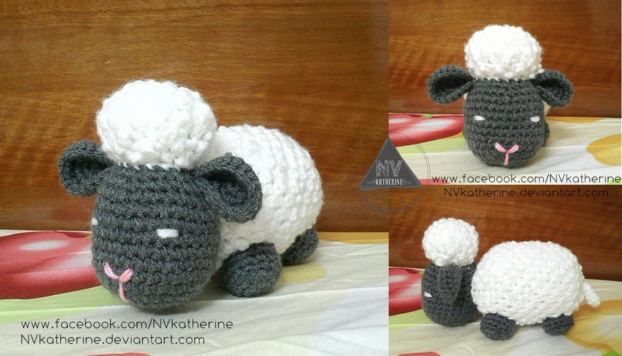 Argo the sheep by NVkatherine