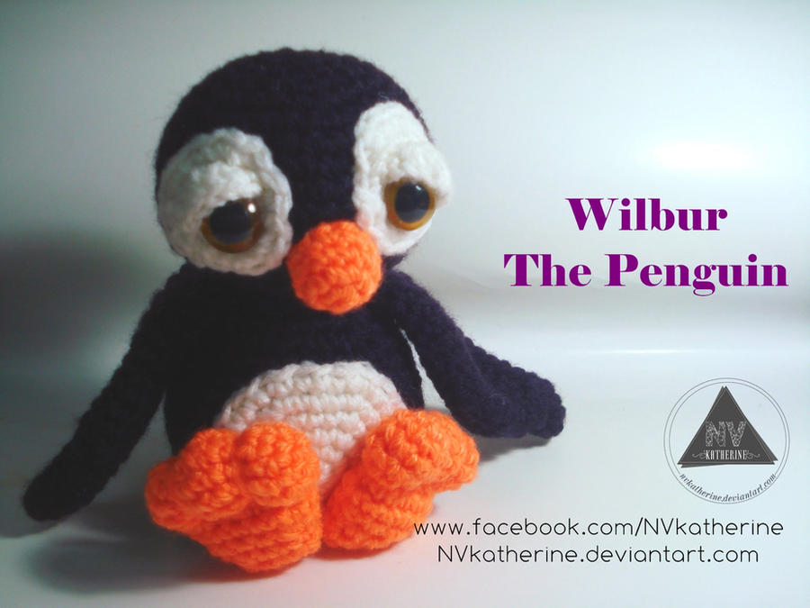 Wilbur the Penguin by NVkatherine