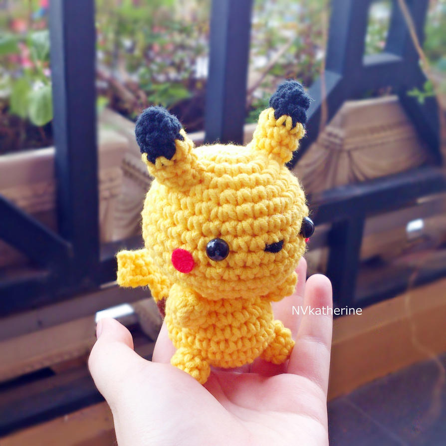 Chibi Pikachu Amigurumi : [FREE SHIPPING] Chibi Pikachu amigurumi by NVkatherine on ...