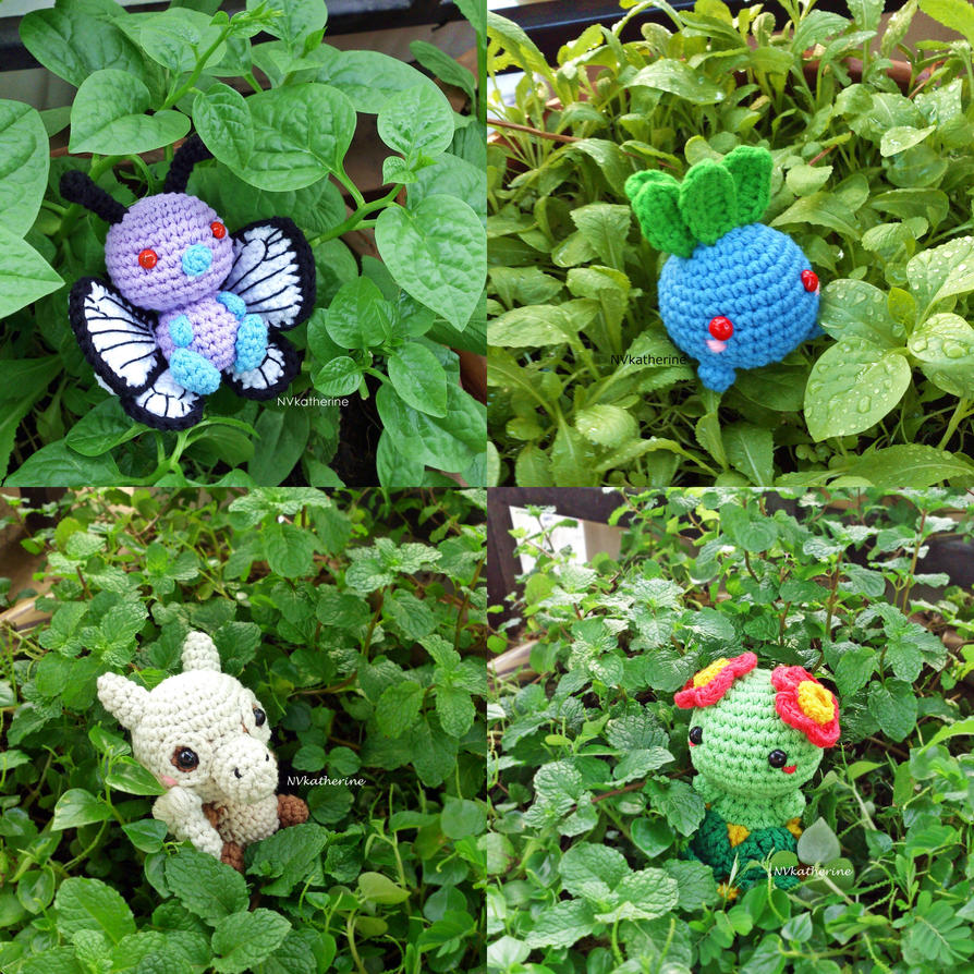 Relisted Pokemon amigurumi by NVkatherine