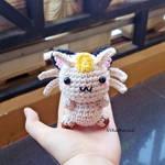 [FREE SHIPPING] Chibi Meowth amigurumi