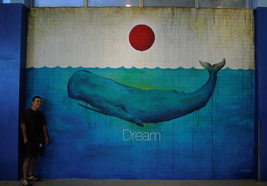 Dream Mural by Gilbert Cantu by GilbertCantu