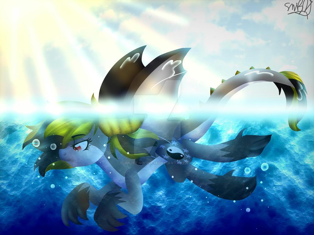 Dragon At Sea by Juliet-GWOLF18