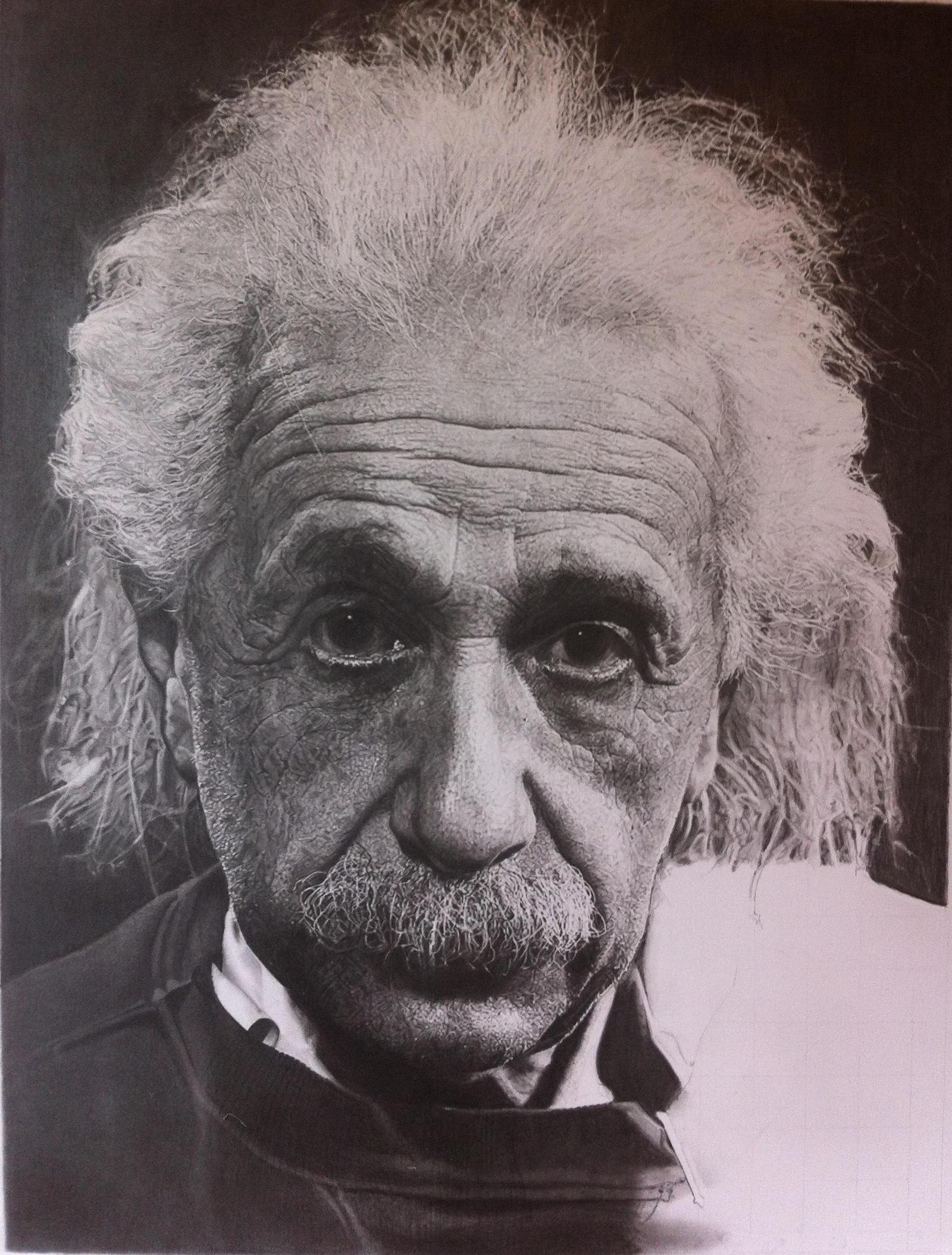 last stages Albert Einstein by SamanthaMessias
