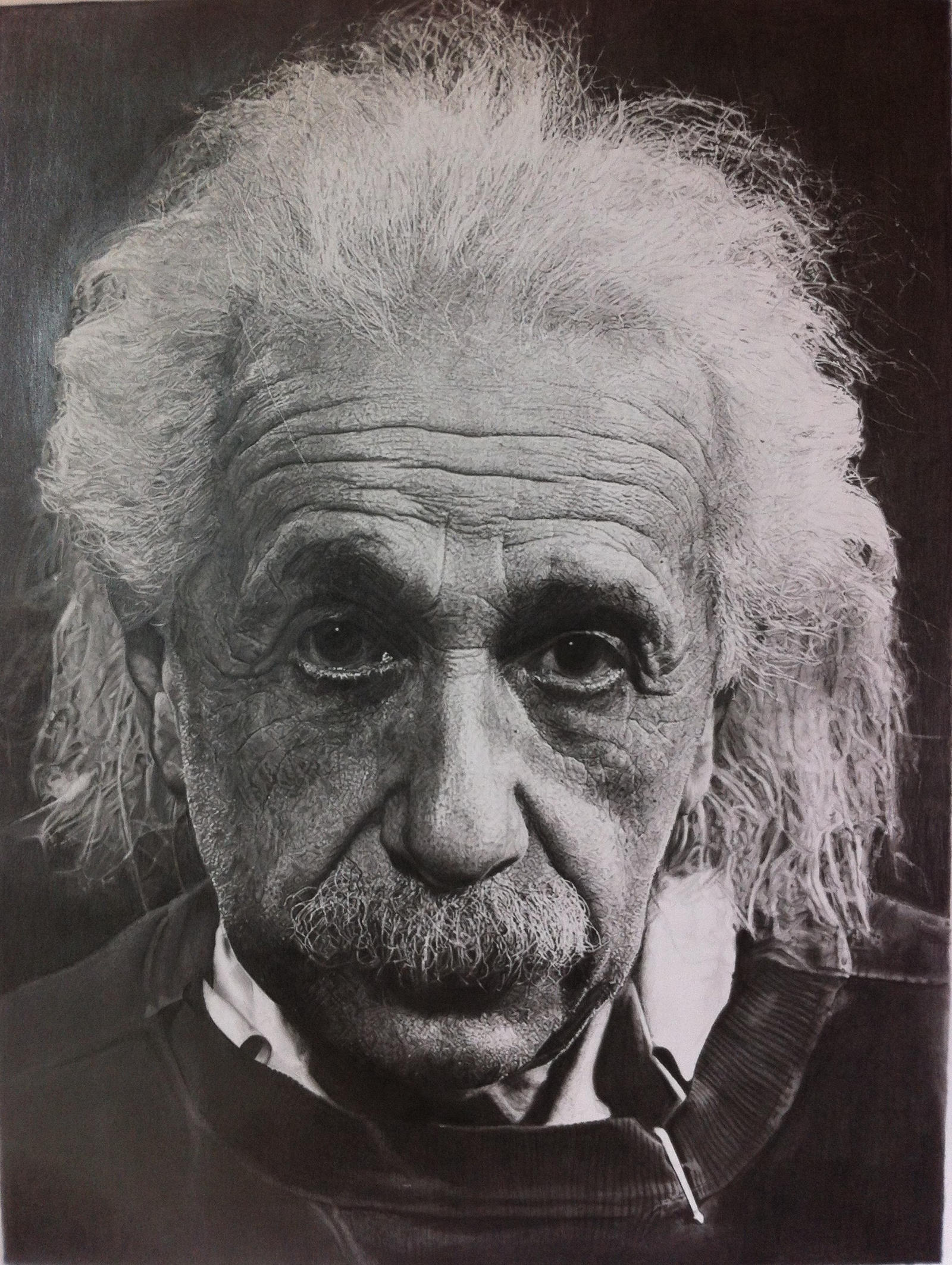 Albert Einstein by SamanthaMessias