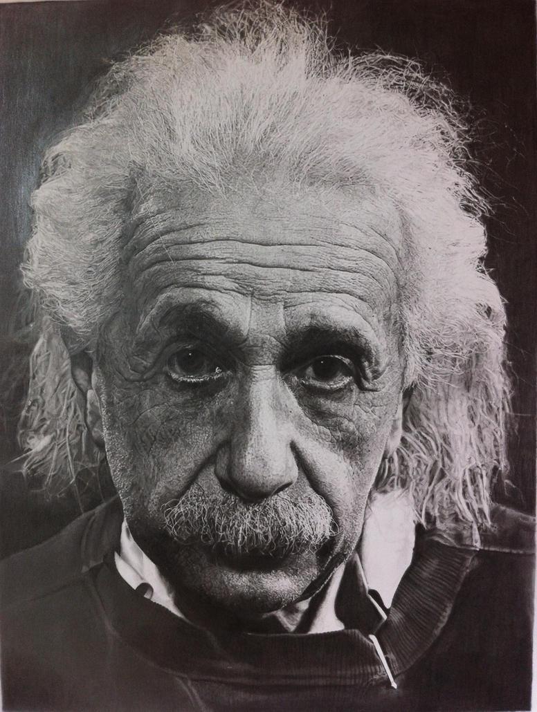 Albert Einstein by SamanthaMessias