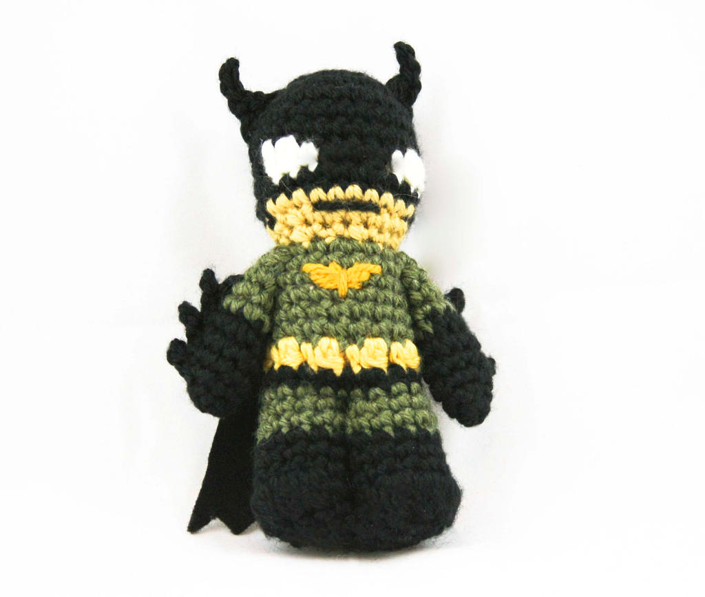 Batman - Amigurumi by GeekeryMade on DeviantArt