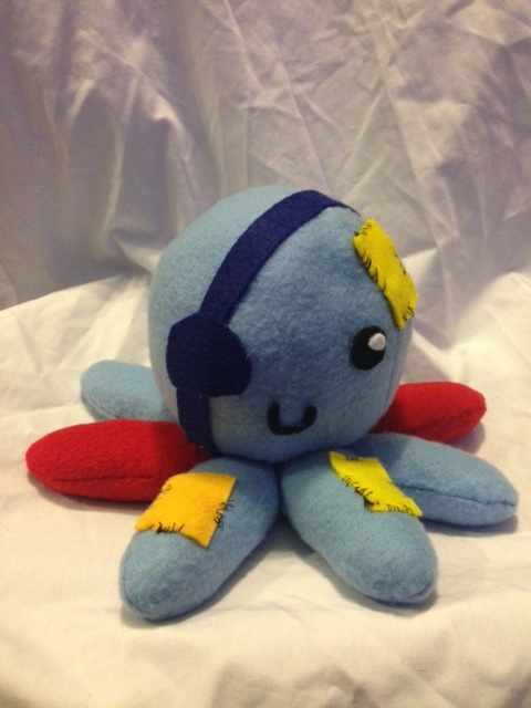 how to make octopus plush