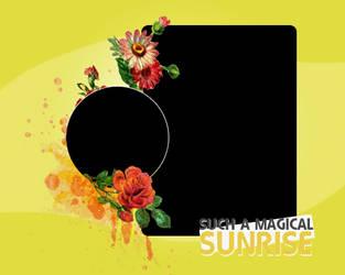 Magical Sunrise Texture by hardtotake