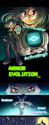 Armor Evolution done by Qvi
