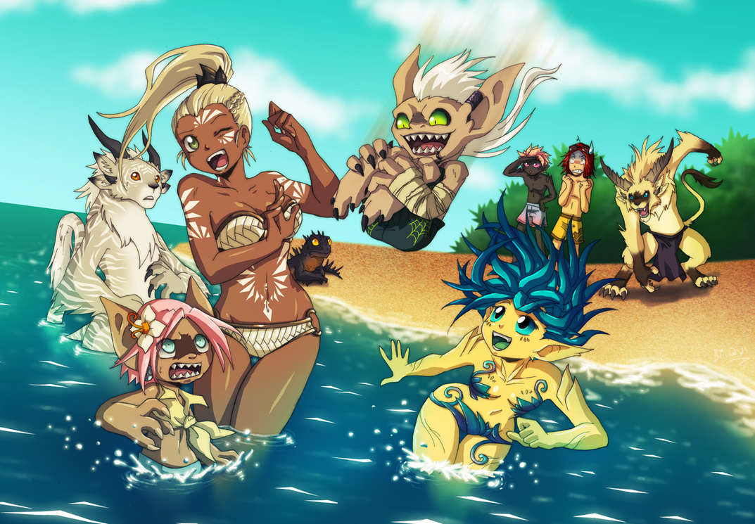 Guild Wars 2 Summer Madness by Qvi
