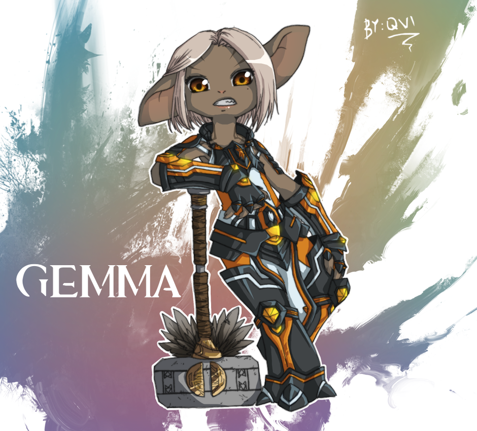 GW2: Gemma the Asura by Qvi