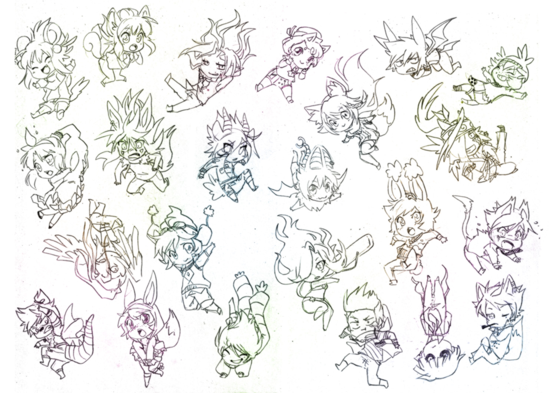 Anime Pose Chibi Recherche Google Poses T Drawings – Fondos de Pantalla