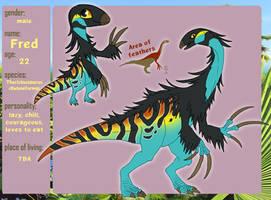 Fred the Therizinosaurus