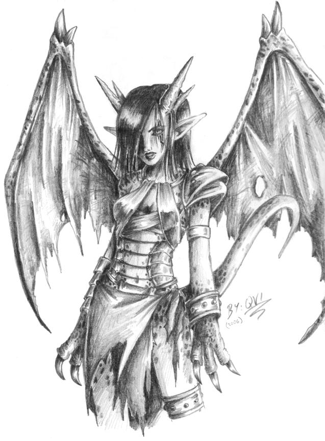 Dragon Half Lady By Qvi On Deviantart