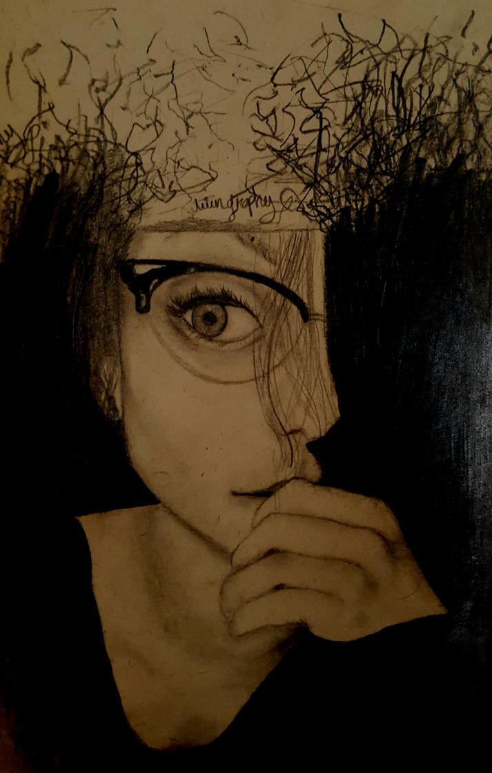 la fille en noir by avingraphy