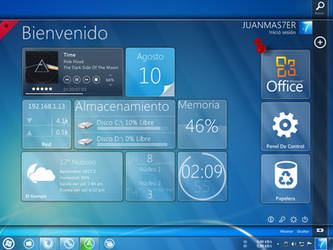 My desktop by JUANMAS7ER