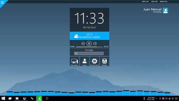 My desktop (again)